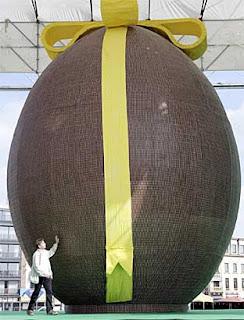 ไข่อีสเตอร์ ใหญ่ที่สุดในโลก