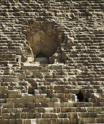ทางเข้า พีระมิด แห่ง กิซ่า