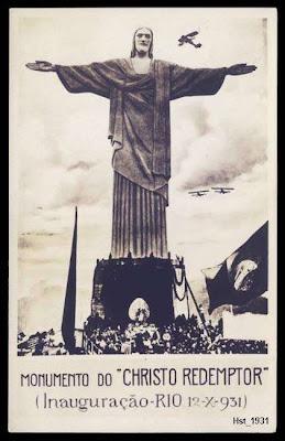 รูปส่วนพระเศียรขณะก่อสร้าง รูปปั้นพระเยซูคริสต์