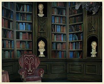 หอสมุด ผีสิง