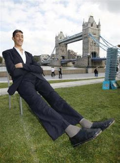 คนที่สูงที่สุดในโลก