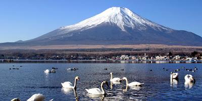 ภูเขาฟูจิ ภูเขา สวยที่สุดในโลก