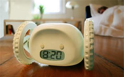 สิ่งประดิษฐ์ สำหรับ คนขี้เซา นาฬิกาปลุกซ่อนหา ( Clock)