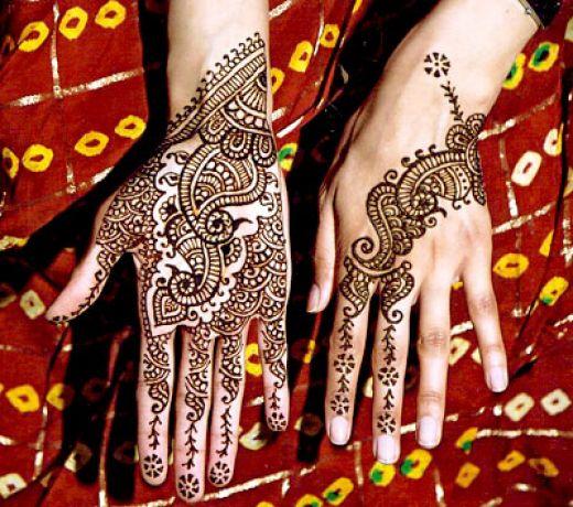 bridal tattoo