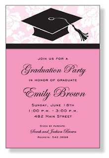 Graduation party ideas fresh ink style sentiment stationery what could be more fun than a graduation party the perfect graduation party starts with a really cute graduation party invitation filmwisefo