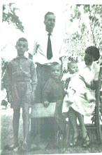 Washington Porto Sandoval e família