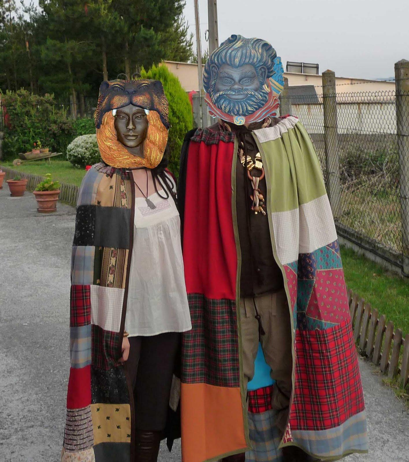 Vestidos celtas de mujer