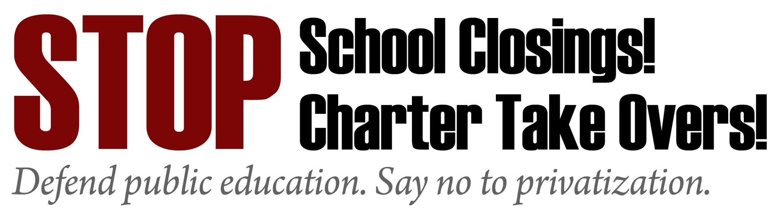 Grassroots Education Movement (NYC): Stop the SCHOOL CLOSINGS ...
