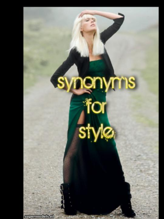 Synonyms for Style