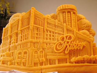 Awesome Cheese SculpturesAwesome Cheese Sculptures