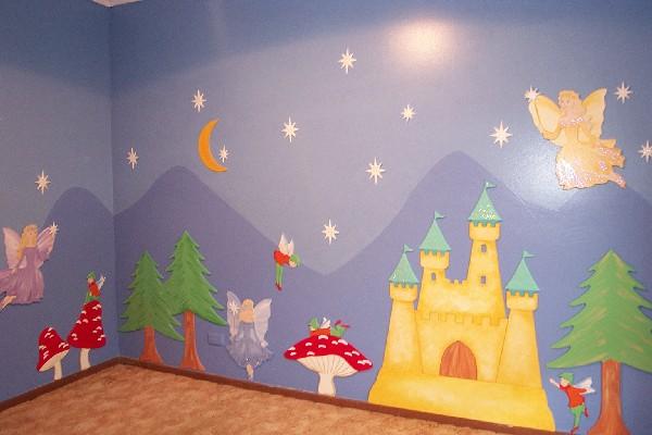 Pintorera murales infantiles - Dibujos paredes infantiles ...