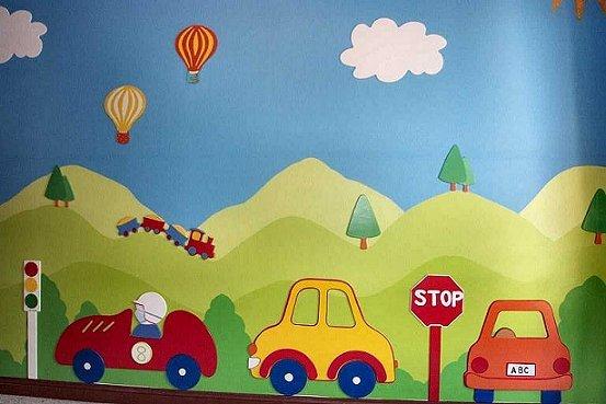 Pintorera murales infantiles for Contoh lukisan mural tadika
