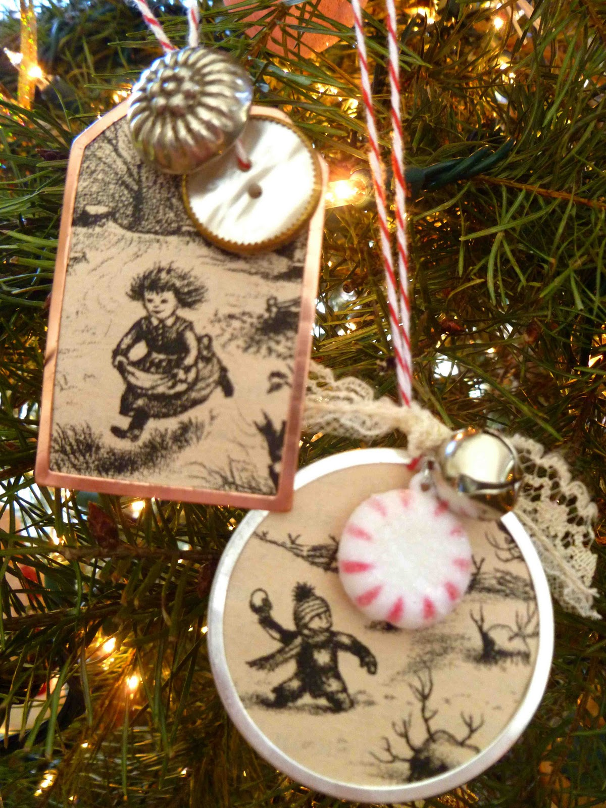 The Happy Honeybee Little House Christmas Stockings