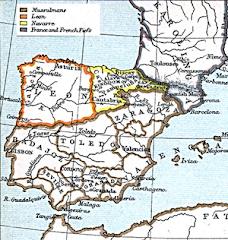 Península Ibérica en 1210