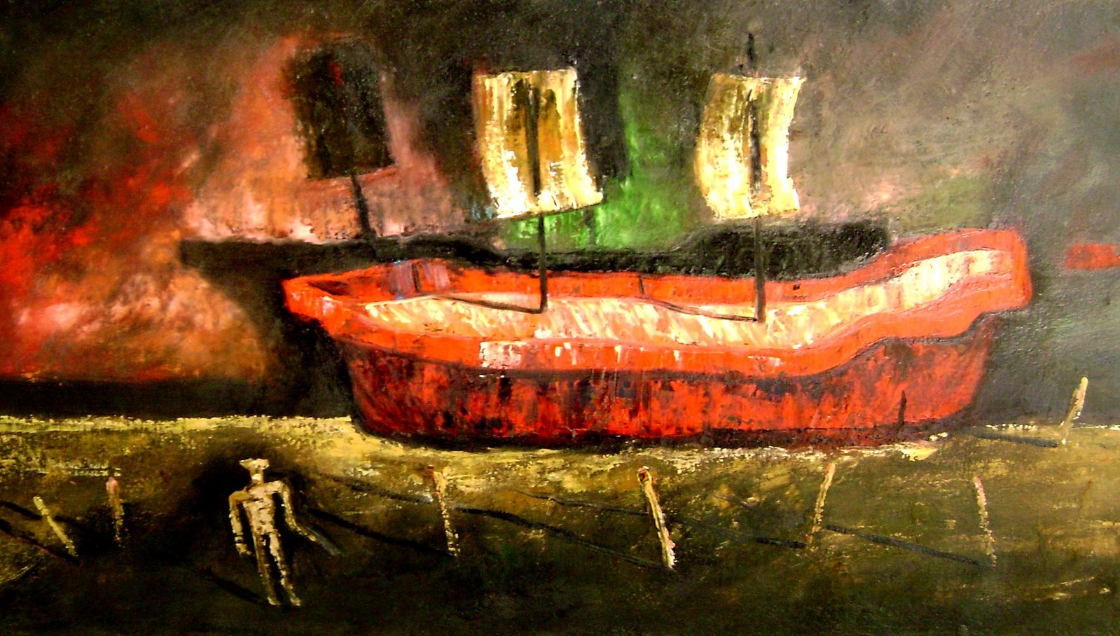 Both/oil on canvas/55 cm. x36 cm./2007 / US $300