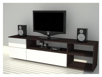 mueble bajo para televisor