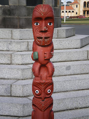 Maori Art in Rotorua