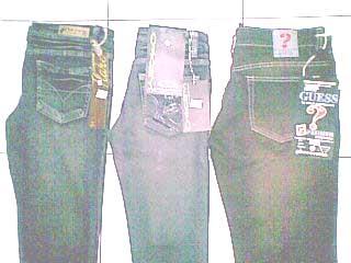 grosir celana jeans wanita bebe , loggo , guess dll