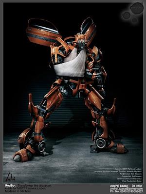 Mejores robots diseño 3d