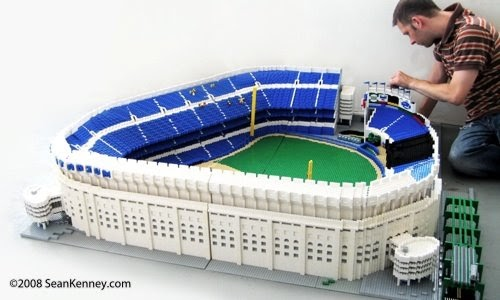 It is about the money, stupid: Lego Yankee Stadium