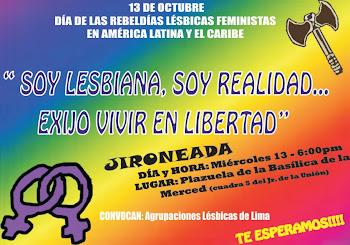 13 DE OCTUBRE JIRONEADA