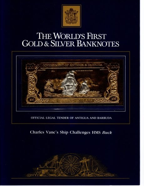 World Paper Money The World S First Gold Amp Silver Banknotes