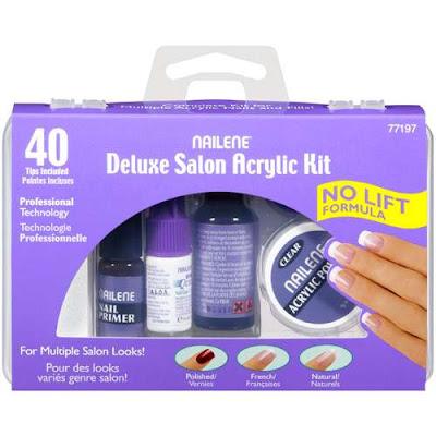 Nailene deluxe salon acrylic kit review the good the bad for Acrylic nails walmart salon