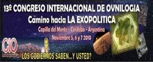 CONGRESO INTERNACIONAL DE OVNILOGIA CAPILLA DEL MONTE 5,6 y 7 NOV-13vo