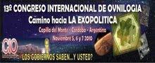 CONGRESO INTERNACIONAL DE OVNILOGIA CAPILLA DEL MONTE 5,6 y 7 NOV-13vo