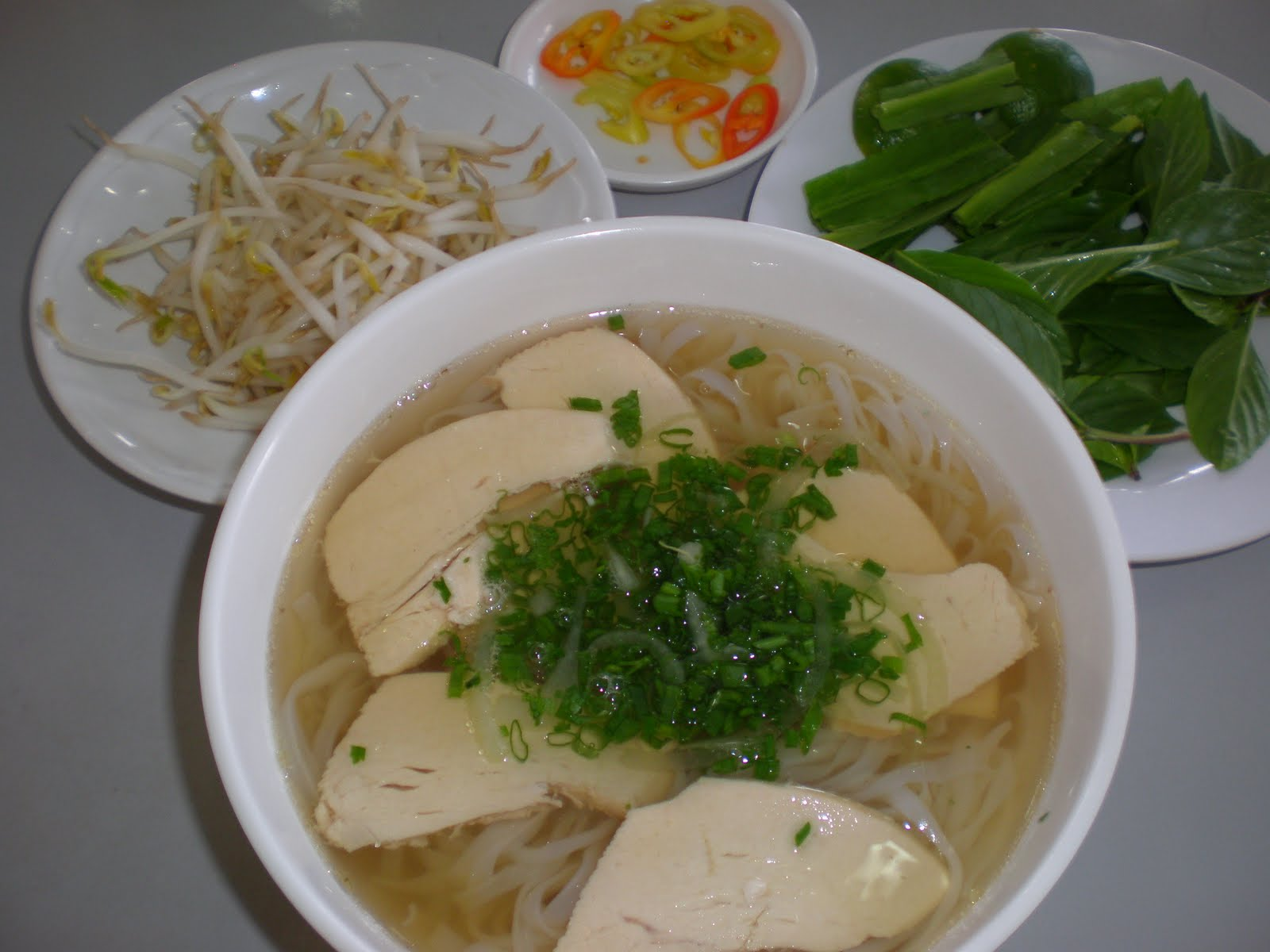 how to make chicken like pho places
