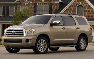2008 Toyota Sequoia Limited 4x4