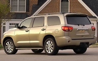 2008 Toyota Sequoia Limited 4x4-2