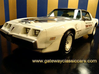 1980 Pontiac Trans Am Turbo Indy 500 Pace Car