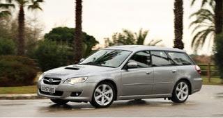 2008 Subaru Legacy Sports Tourer and Outback