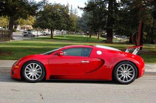 Red Bugatti Veyron-2