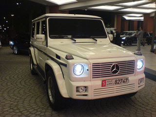 Mercedes G55 AMG