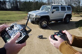 Remote-Controlled HUMMER H3