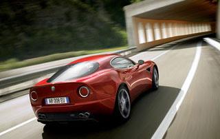 2009 Alfa Romeo 8C Competizione-2