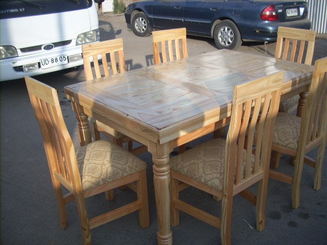 Muebles pino oregón