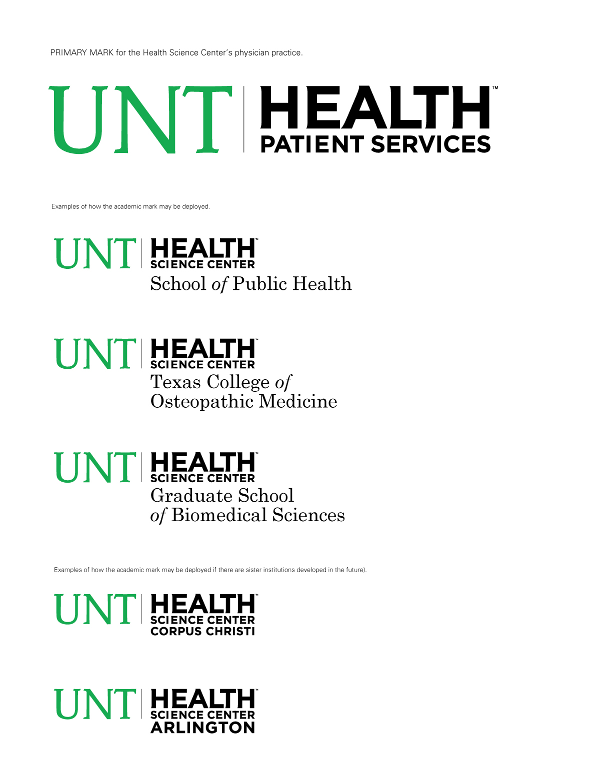 Ligon Owens Design Was Contorted To Redesign The Brand Identity And Develop A New Color Strategy Help UNT