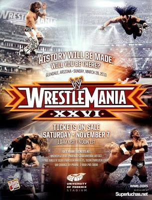 wrestlemania 26, wrestlemania 2010