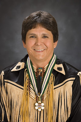 Chief Clarence Louie, Osoyoos BC
