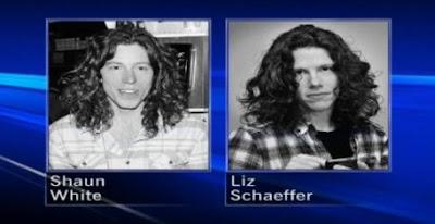 Shaun White and Liz Schaffer