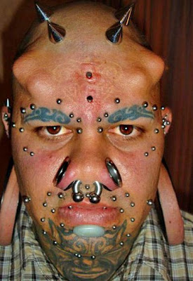 Outrageous piercings