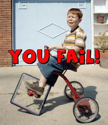 YOU FAIL!