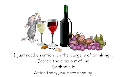 The danger of reading....