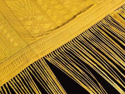 Made with Golden Orb Spider Silk
