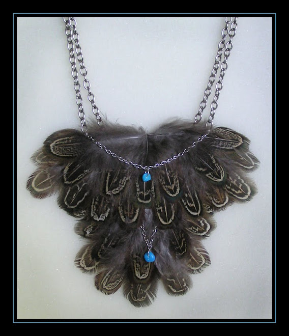 Pheasant Mega-Necklace
