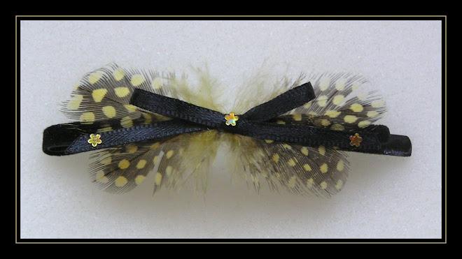 Yellow Hair-clip I