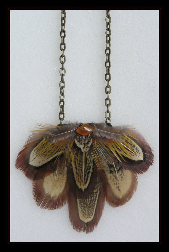 Pheasant Small Necklace